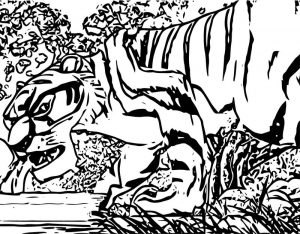 Disney jungle book coloring page 57