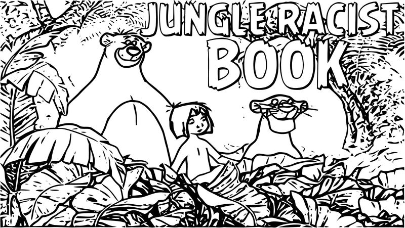 Disney Jungle Book Coloring Page 60