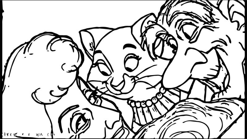 Disney The Aristocats Coloring Page 113