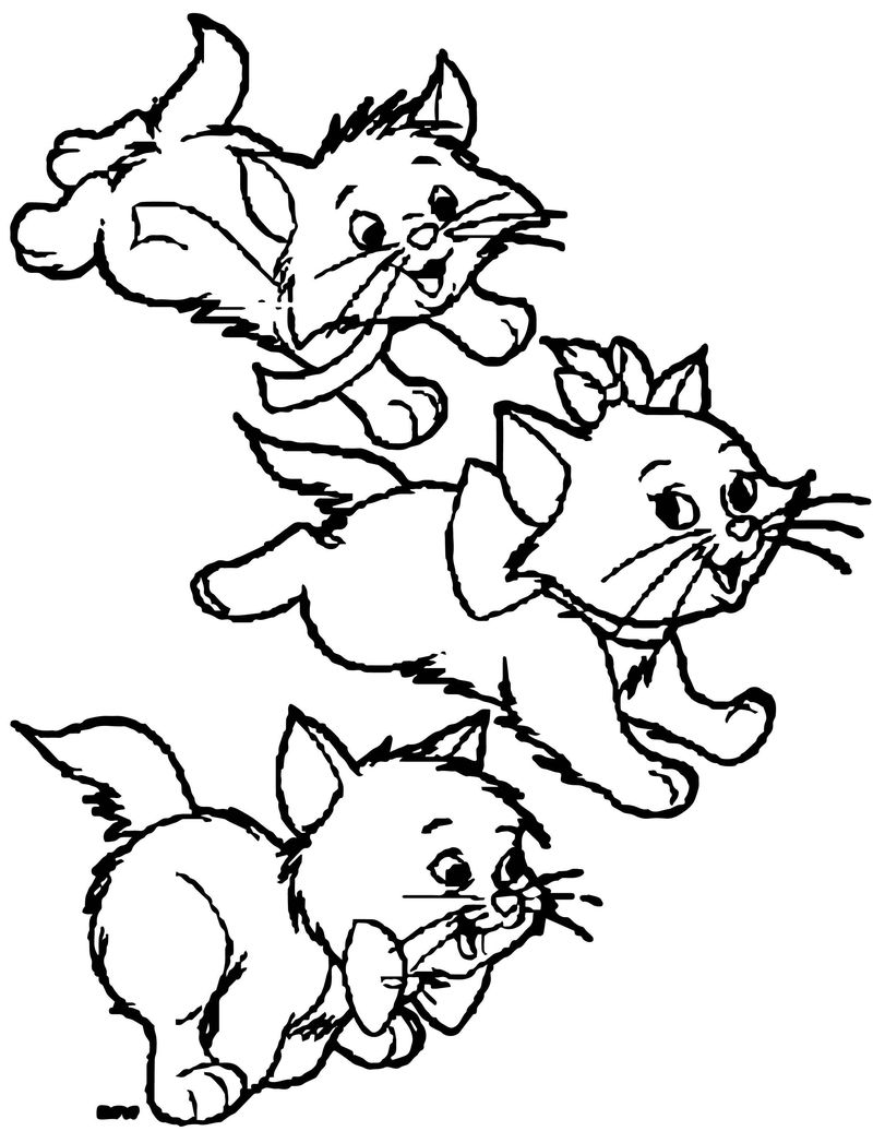 Disney The Aristocats Coloring Page 140