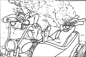 Disney the aristocats coloring page 155