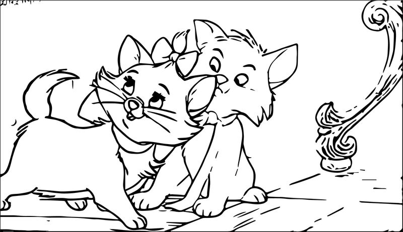 Disney The Aristocats Coloring Page 160