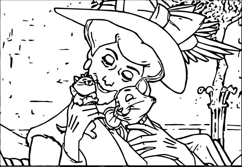 Disney The Aristocats Coloring Page 177