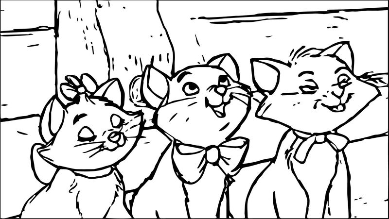 Disney The Aristocats Coloring Page 188