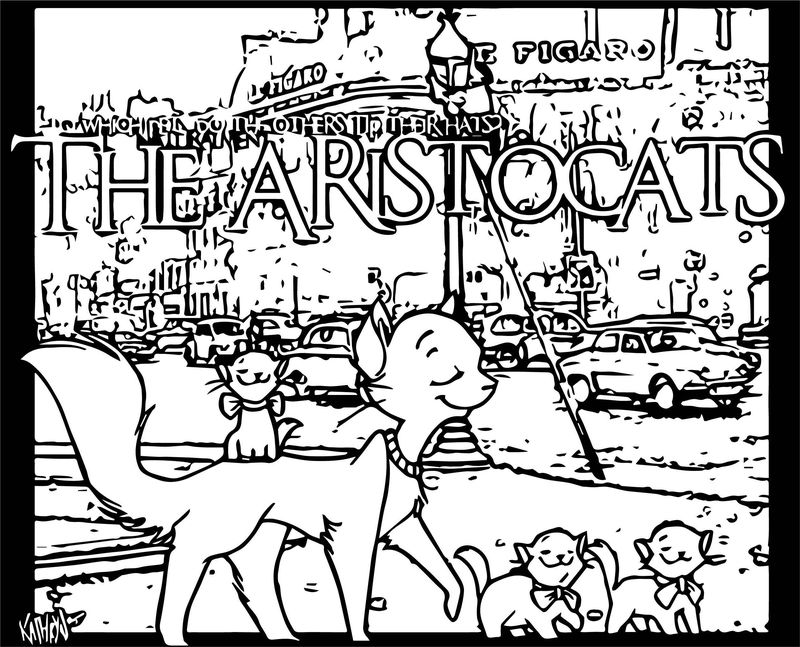 Disney The Aristocats Coloring Page 198