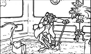 Disney the aristocats coloring page 199