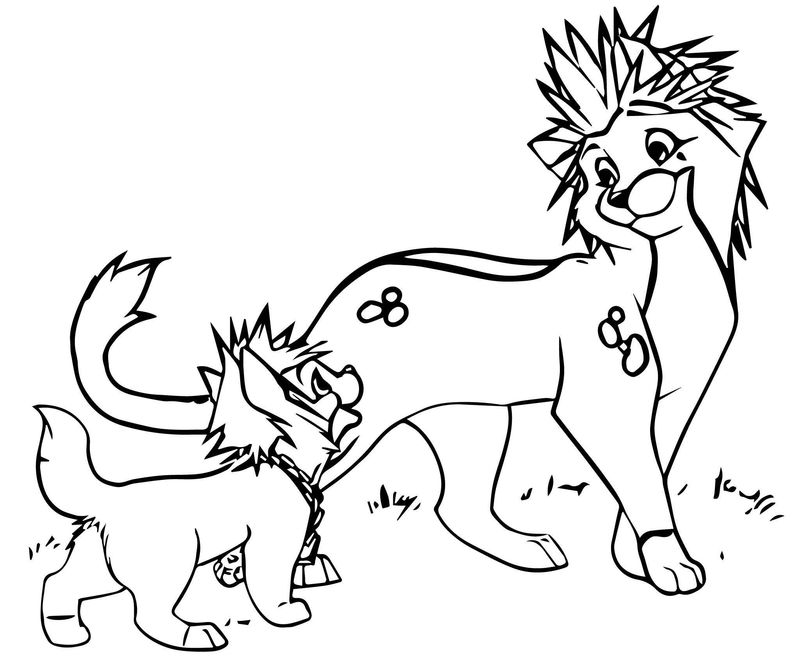 Disney The Aristocats Coloring Page 213
