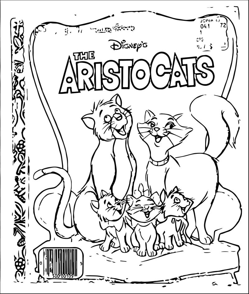 Disney The Aristocats Coloring Page 226