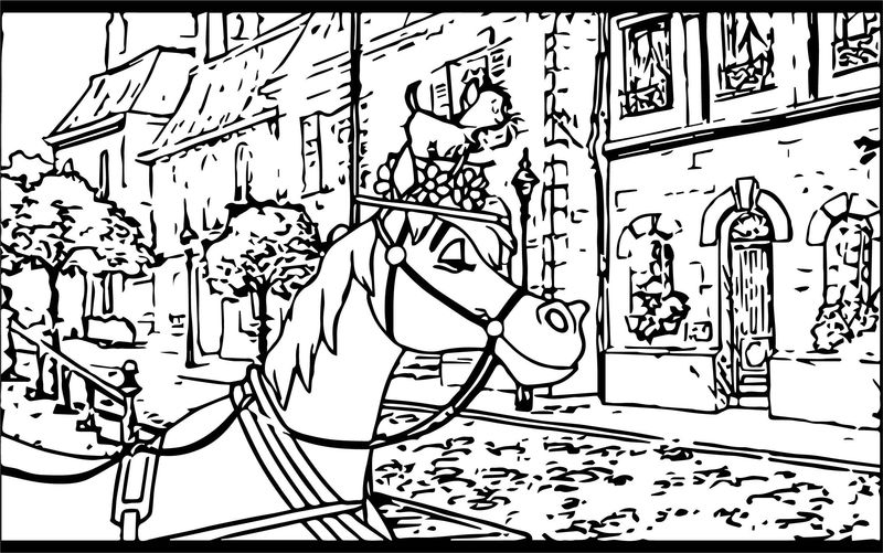 Disney The Aristocats Coloring Page 240