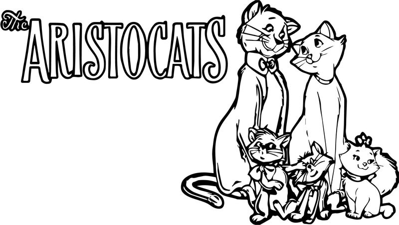 Disney The Aristocats Coloring Page 244