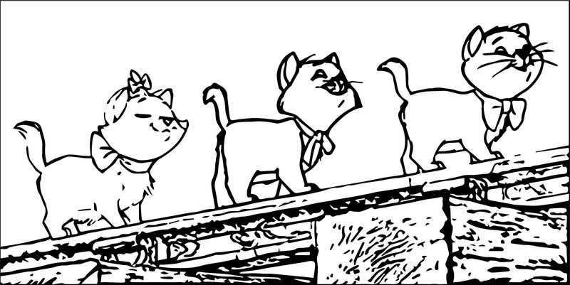 Disney The Aristocats Coloring Page 254