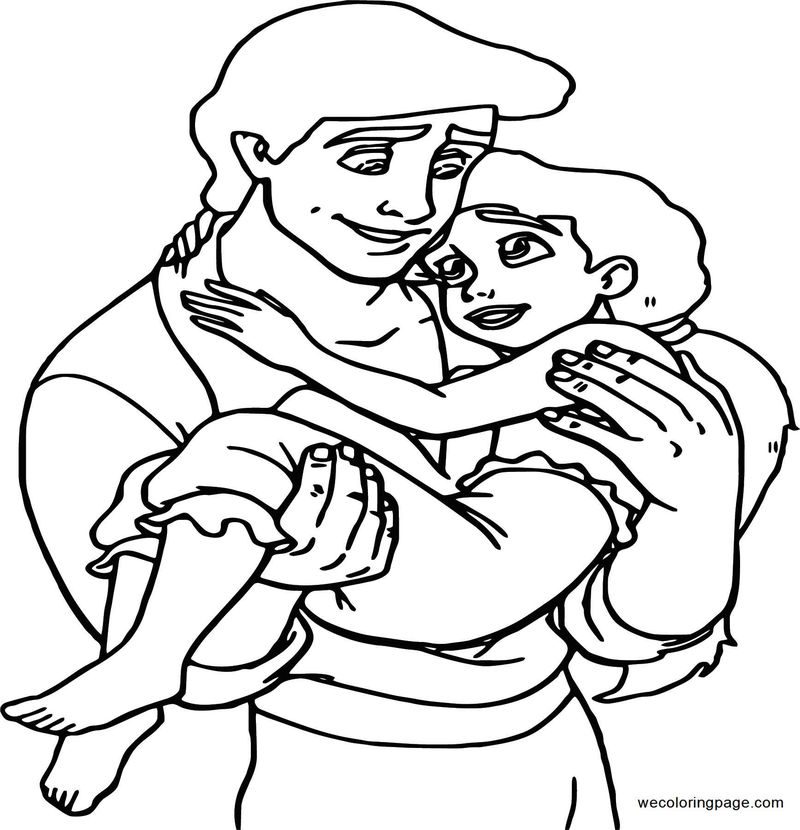 Disney The Little Mermaid 2 Return To The Sea Coloring Page 14