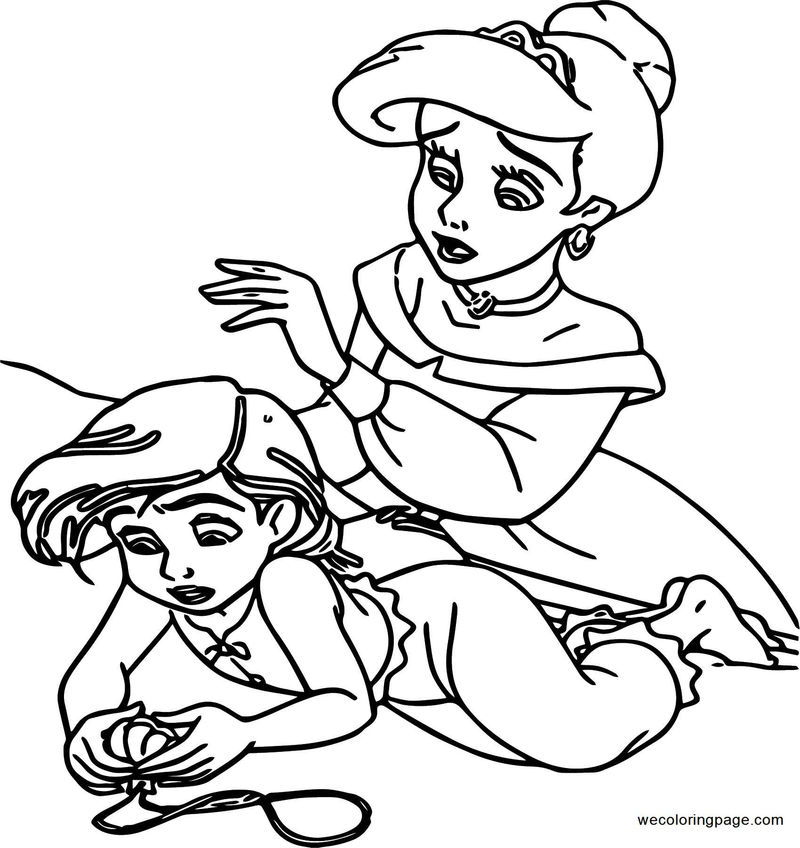 Disney The Little Mermaid 2 Return To The Sea Coloring Page 16