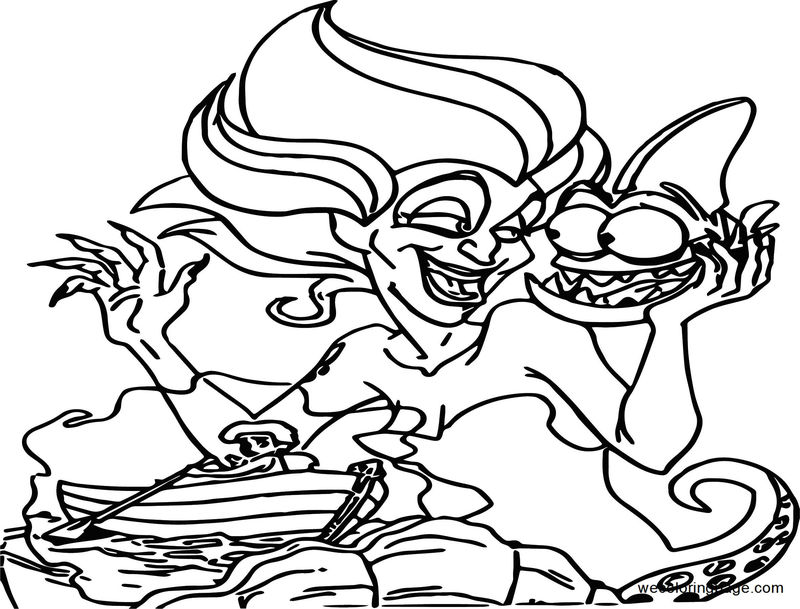 Disney The Little Mermaid 2 Return To The Sea Coloring Page 21