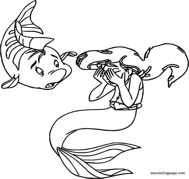 Disney The Little Mermaid 2 Return To The Sea Coloring Page 29