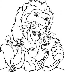 Disney the wild coloring pages 04