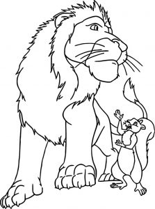 Disney the wild coloring pages 12
