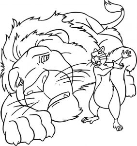 Disney the wild coloring pages 16