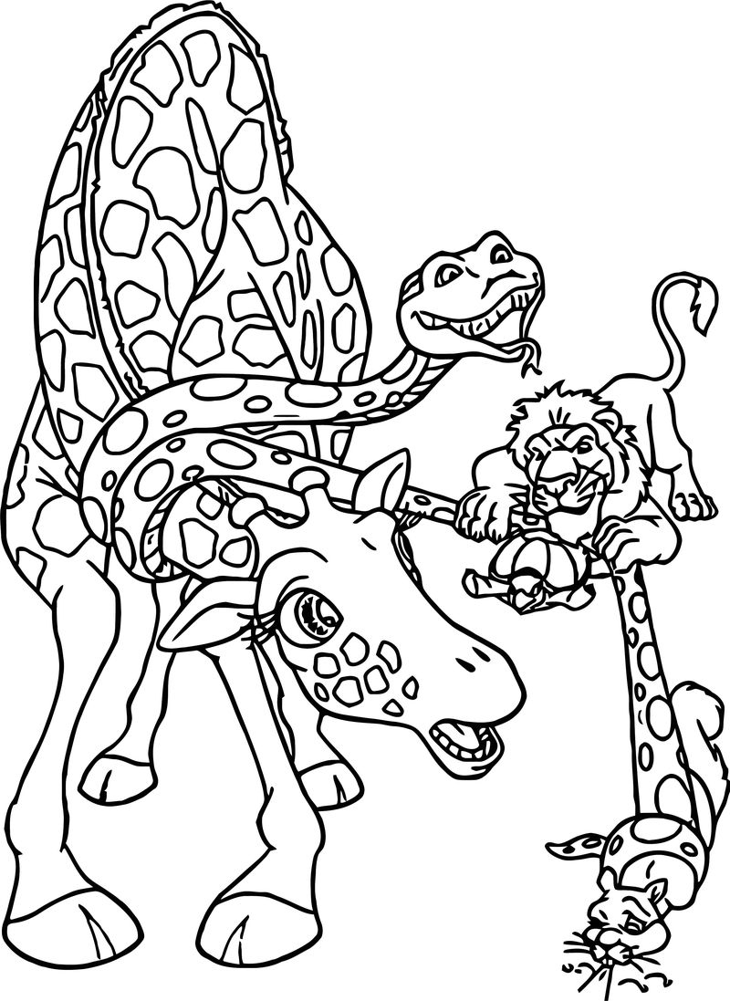 Disney The Wild Coloring Pages 18