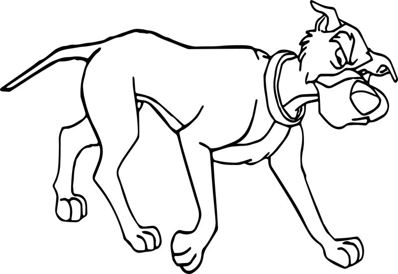Dog Chief Coloring Page