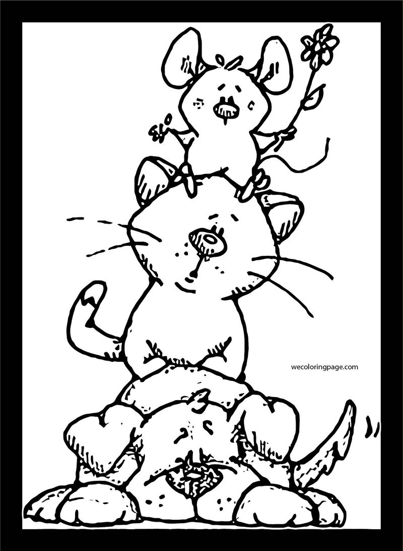 Dog Coloring Pages 008