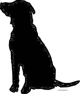Dog coloring pages 011