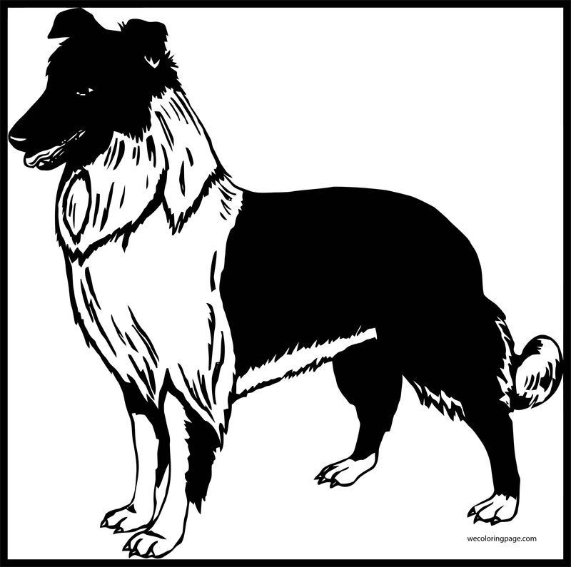 Dog Coloring Pages 014