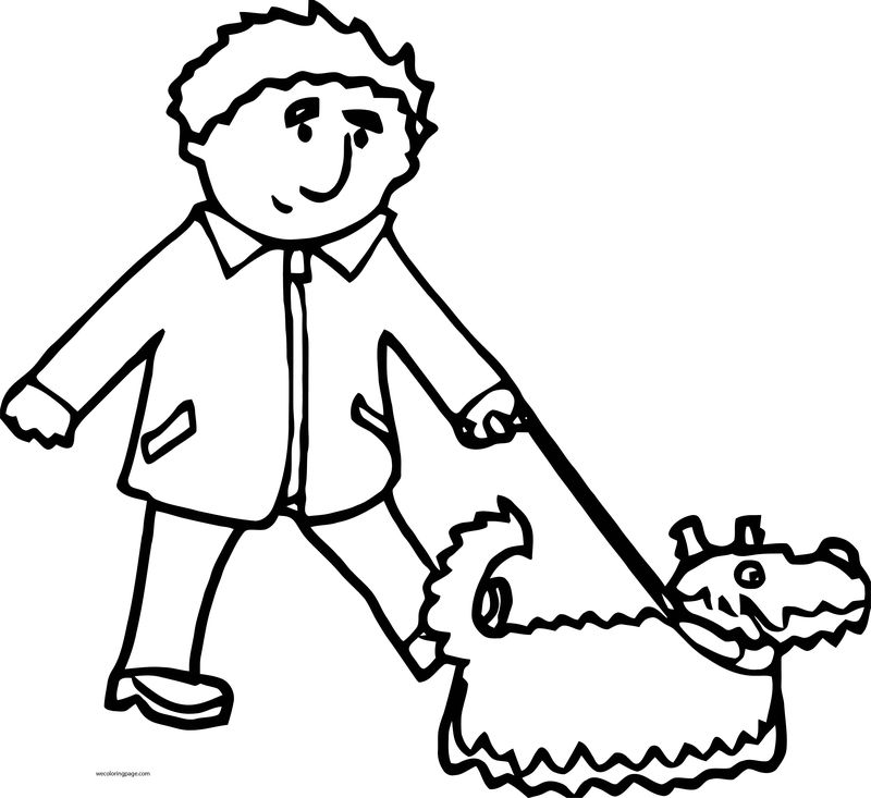 Dog Coloring Pages 016
