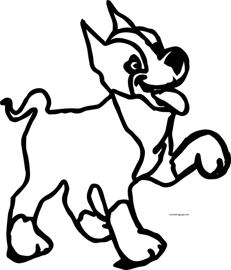 Dog Coloring Pages 023