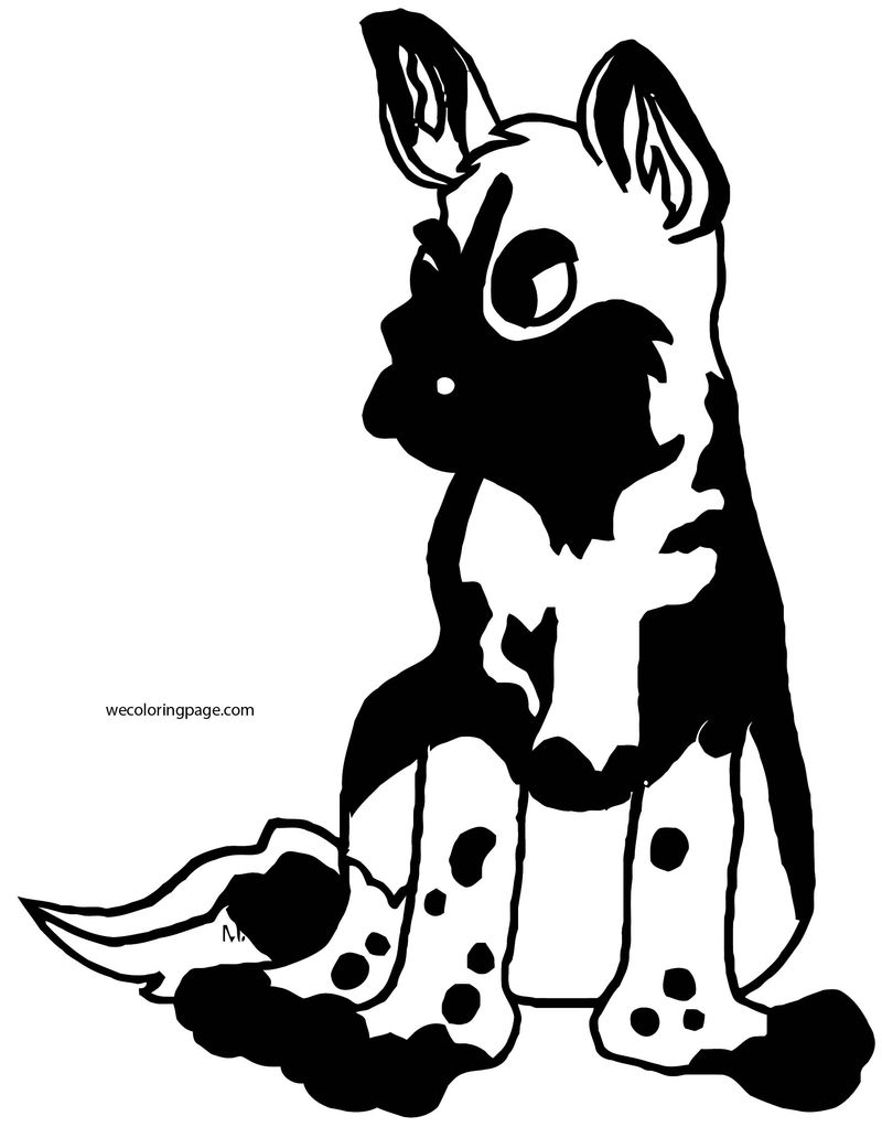 Dog Coloring Pages 033