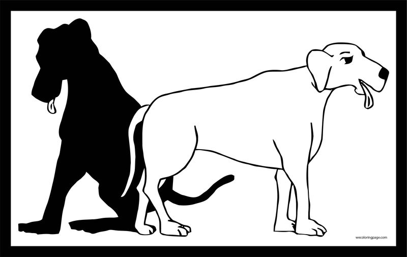 Dog Coloring Pages 043