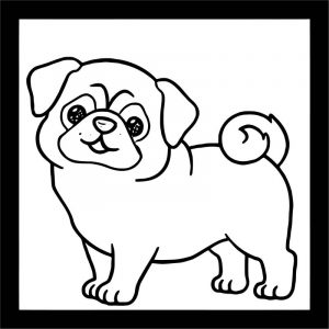 Dog coloring pages 063