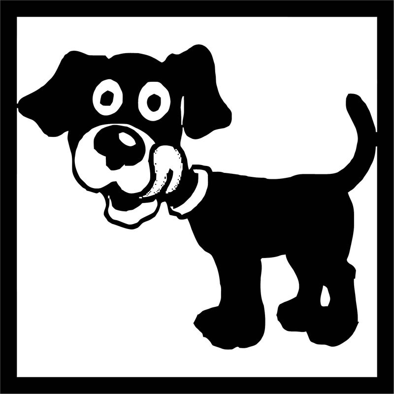 Dog Coloring Pages 084