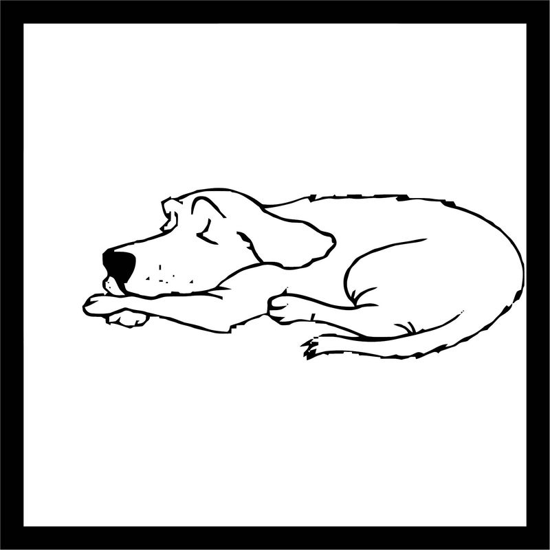 Dog Coloring Pages 089