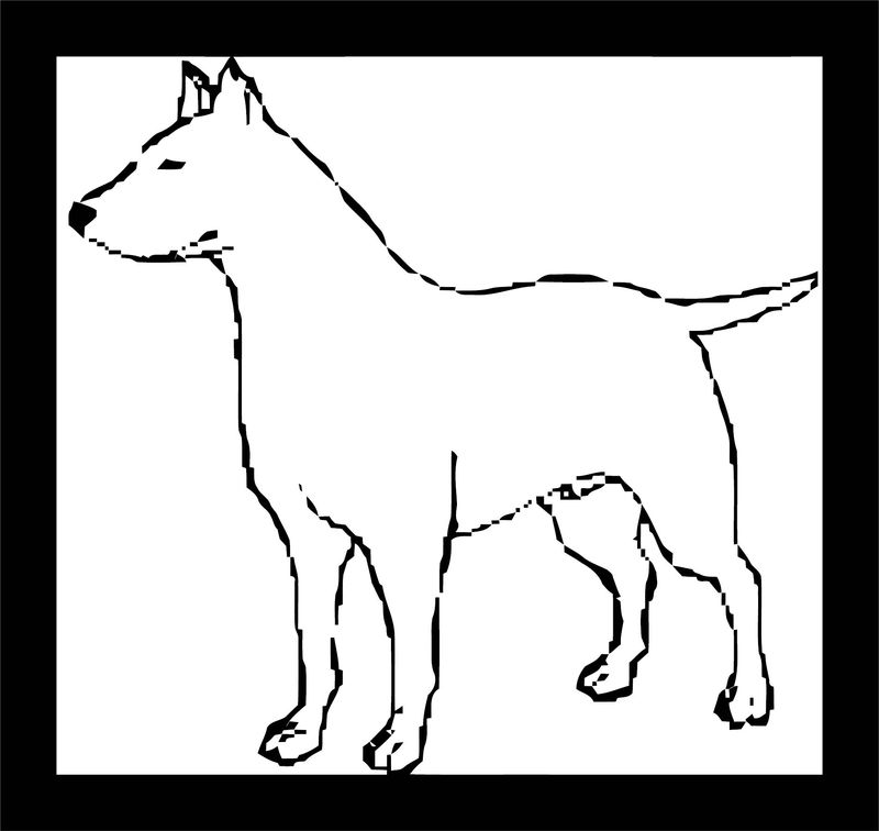 Dog Coloring Pages 099