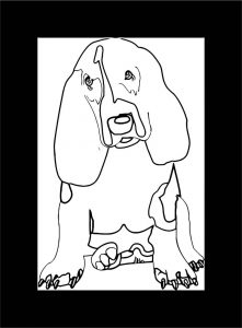 Dog coloring pages 101