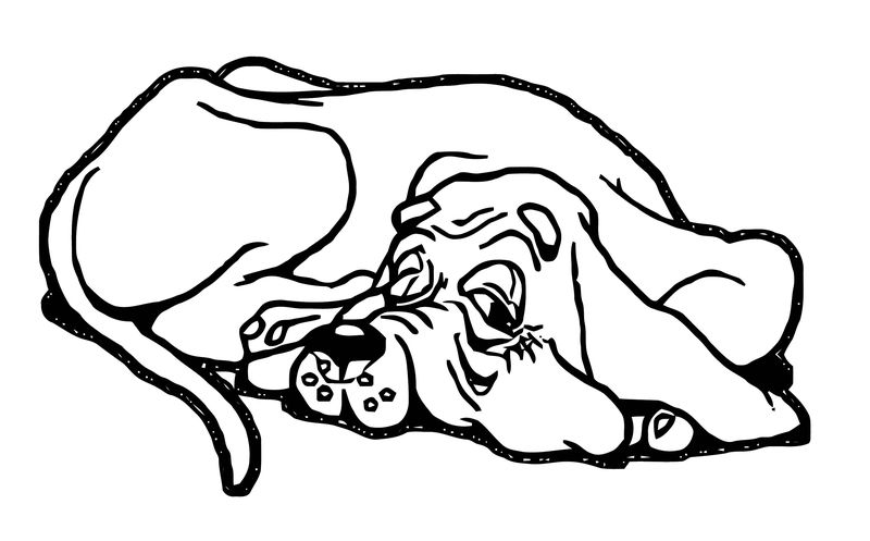 Dog Coloring Pages 106