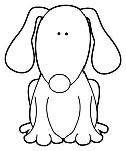 Dog coloring pages 108