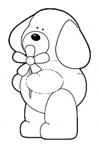 Dog coloring pages 119