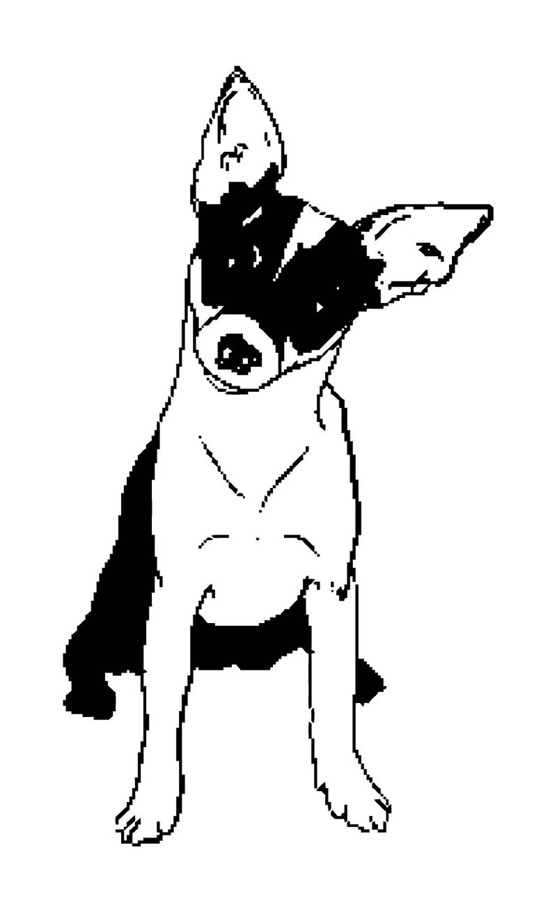 Dog Coloring Pages 121