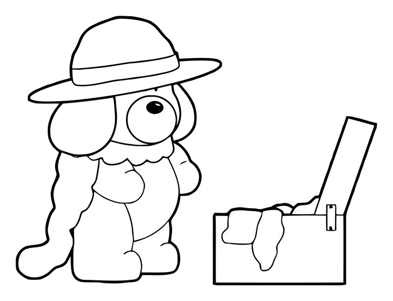 Dog Coloring Pages 134