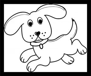 Dog coloring pages 149