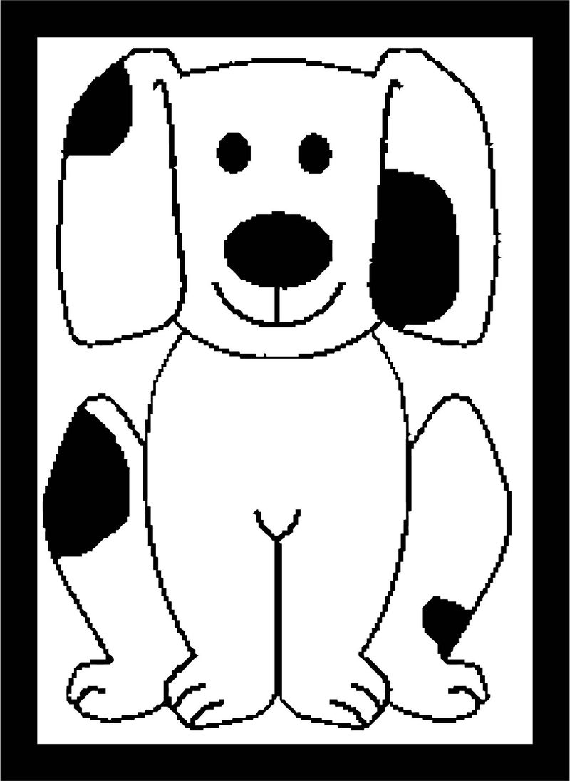 Dog Coloring Pages 163