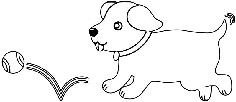 Dog Coloring Pages 169