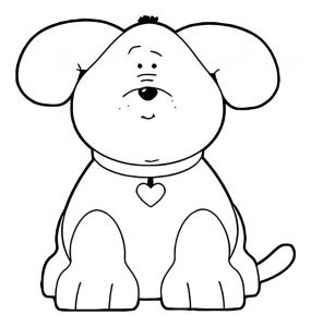 Dog coloring pages 188
