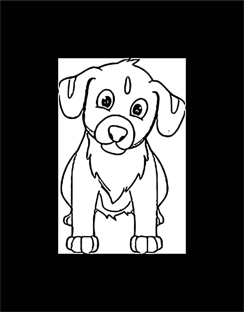 Dog Coloring Pages 193