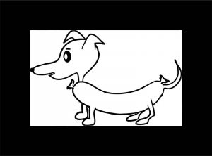 Dog coloring pages 203