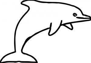 Dolphin coloring page 015