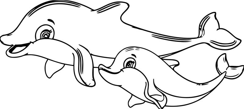 Dolphin Coloring Page 140