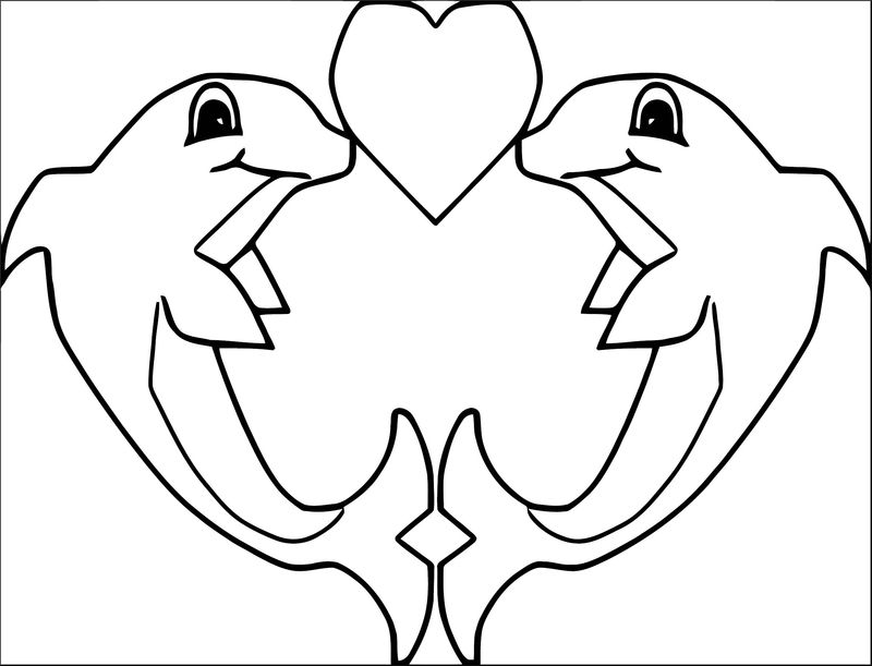 Dolphin Coloring Page 172